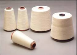 Bamboo spun yarn from cotton spinning machines in pure or blended from Ne 6 - 40