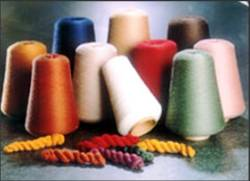 Bamboo spun yarn from worsted spinning machines in pure or blended from Ne 24 - 60