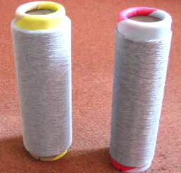 Shielding and conductivity issues are solved with BEAG speciality yarns such as mixtures of Polyester with Belltron