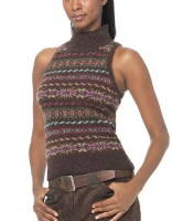fantastic fashionable top made from cashmere