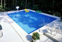 High density (HDPE) and high tenacity (GRET) polyethylene monofilament yarns for swimming pool covers