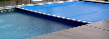 High density (HDPE) and high tenacity (GRET) polyethylene monofilament yarns for swimming pool covers for safety and protection