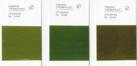 Vitagrass PE monofilaments for artificial grass
