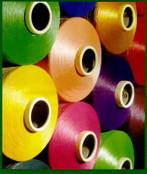 spun dyed shade card of Essegomma Misinto - your quality source for polypropylene filament yarns