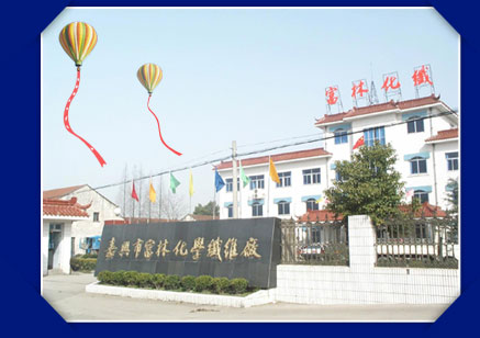 Jiaxing Fulin polyester staple fiber and tow producer - factory building