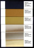 Decora shade card - polyester spundyed dopedyed POY FDY and textured for furnishing fabrics