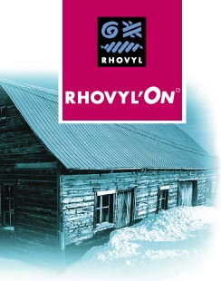Rhovyl ON for insulation