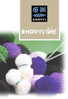 Rhovyl wool blends