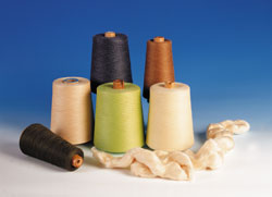 soybean protein yarns for apparel, hometextiles, sportswear, shirting, bedding