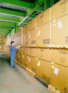 Packing and warehousing at Suntex