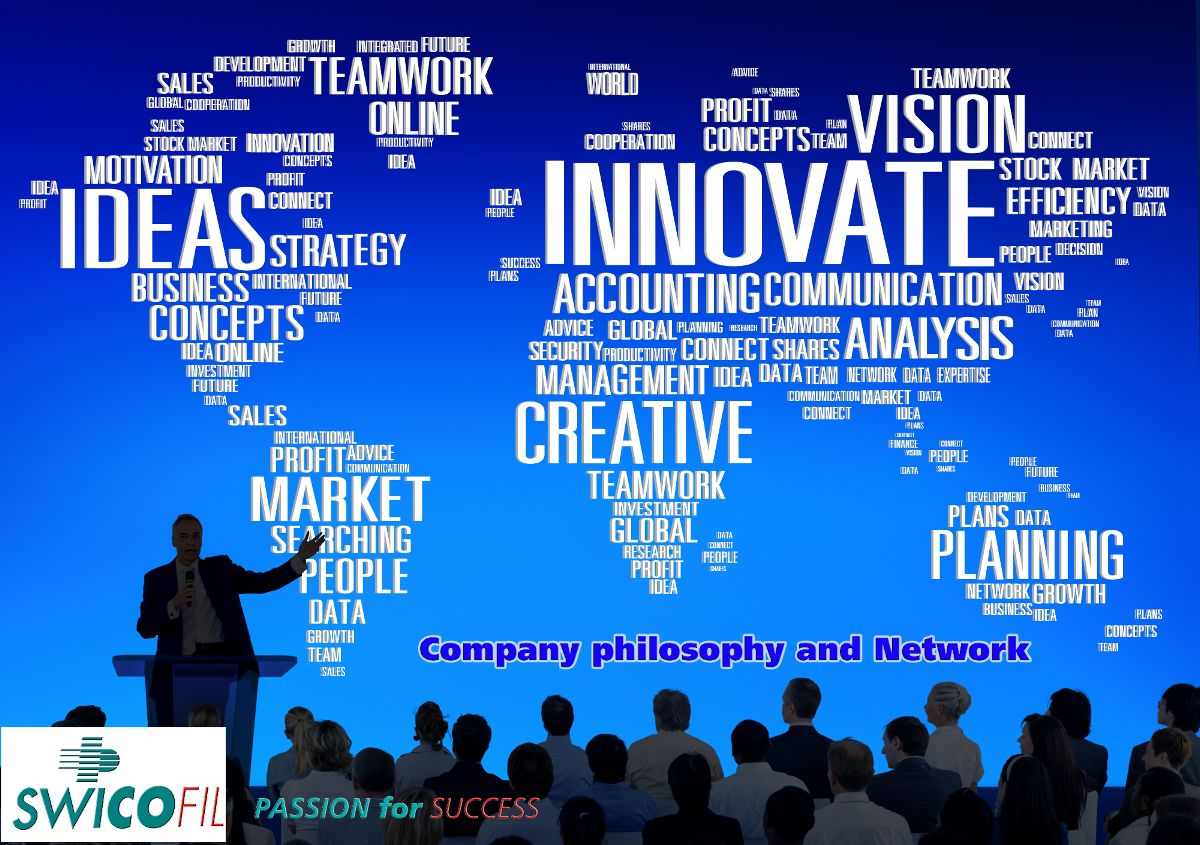 Swicofil Consult philosophy and worldwide network