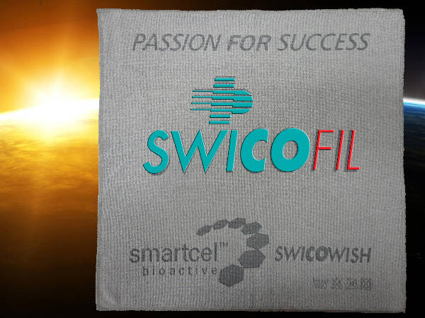 SwicoWish cleaning towels with smartcel bioactive ...