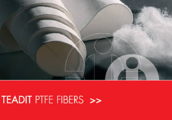 Teadit PTFE staple fibers