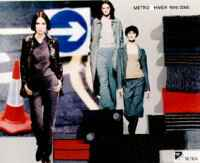Setila Polyester: Colour harmonies for ladies outerwear - Winter 1999/2000
