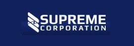The logo of Supreme Corporation - valued customer of Swicofil, your global yarn and fiber expert