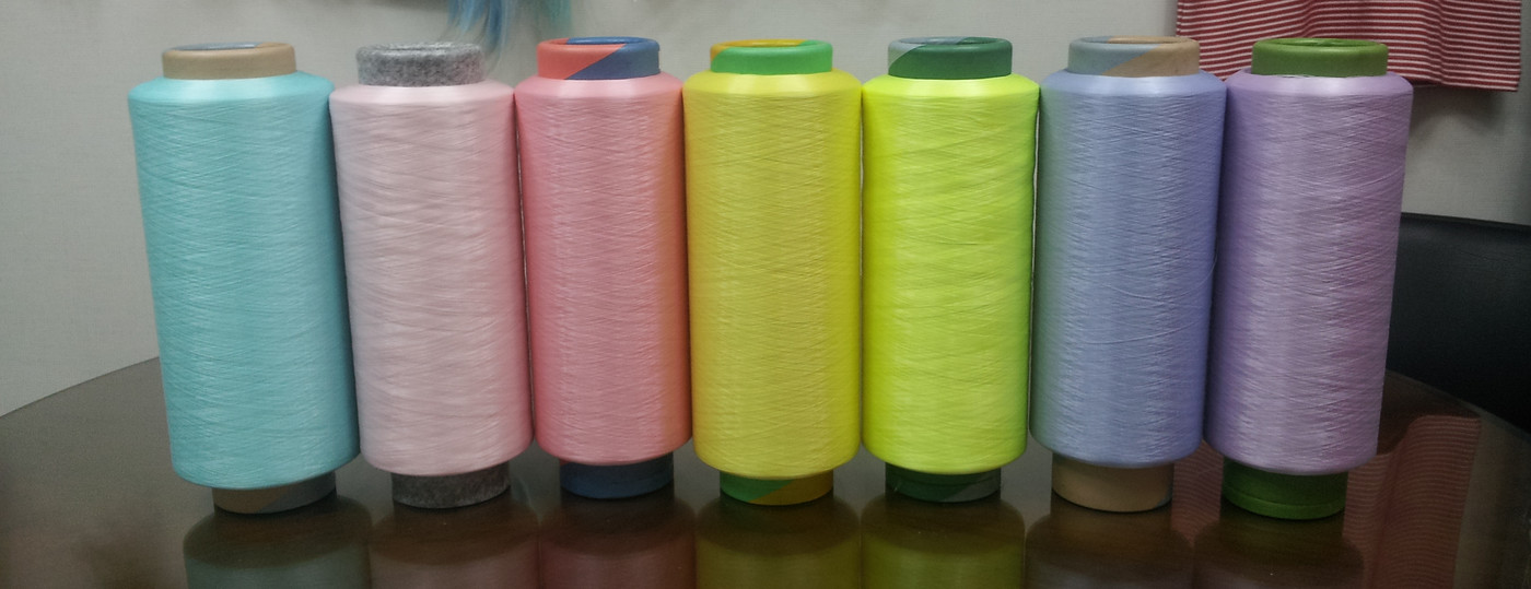 Available colours of luminous glow in the dark yarn
