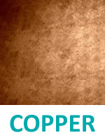 Copper as a possibility to Plasma Metal Coat yarn with Swicofil, expert in yarn and fiber specialities