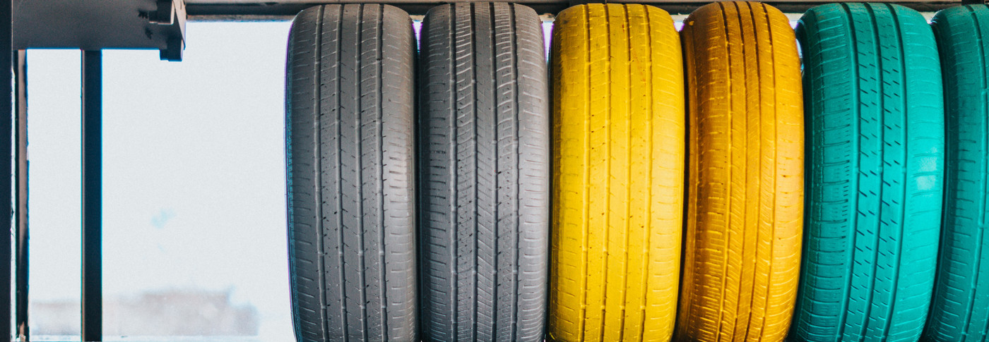 Yarn and fibers for technical applications like tires